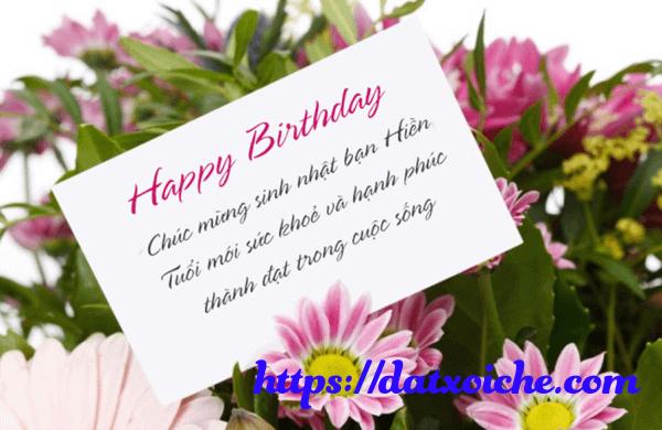 Những lời chúc sinh nhật hay, ý nghĩa tặng bạn thân, người yêu