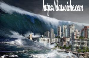 Nằm mơ thấy sóng thần đánh con gì, là điềm gì?